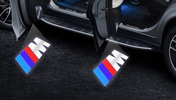 BMW Mercedes Door Logo Projector Lights