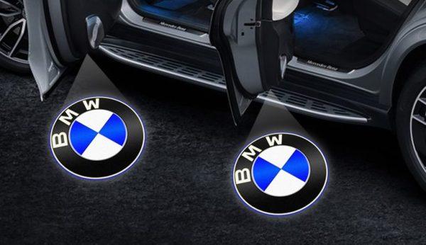 Mercedes BMW Door Logo Projector Lights