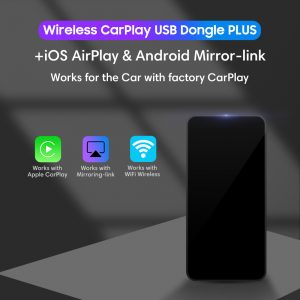 Wireless CarPlay USB Dongle Plus Wireless Android Mirror-Link and ios AirPlay_1