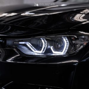 BMW Angel eye headlight assembly